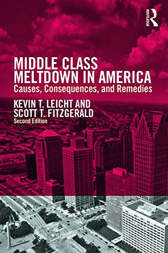 9780415709521: Middle Class Meltdown in America: Causes, Consequences, and Remedies