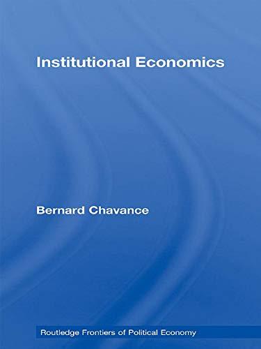 9780415710800: Institutional Economics