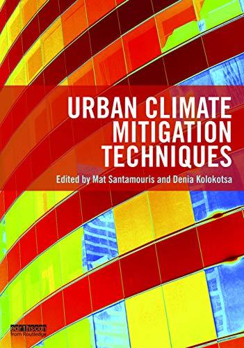9780415712132: Urban Climate Mitigation Techniques