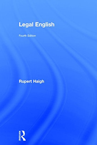 9780415712866: Legal English