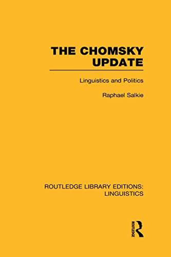 9780415715744: The Chomsky Update (RLE Linguistics A: General Linguistics)