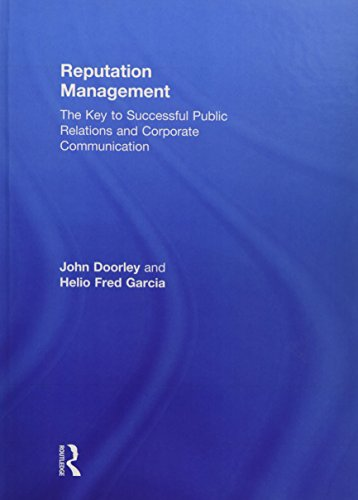 9780415716277: Reputation Management: The Key to Successful Public Relations and Corporate Communication