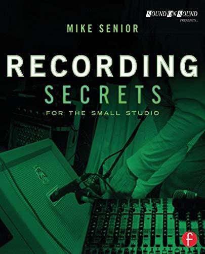 9780415716703: Recording Secrets for the Small Studio