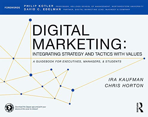 9780415716758: Digital Marketing: Integrating Strategy and Tactics with Values, A Guidebook for Executives, Managers, and Students