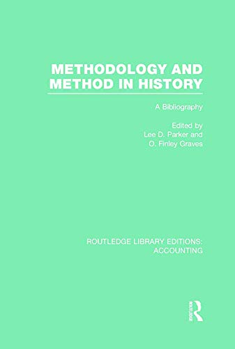 9780415718356: Methodology and Method in History (RLE Accounting): A Bibliography