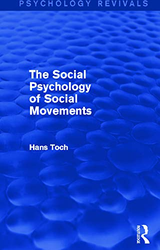 9780415718554: The Social Psychology of Social Movements (Psychology Revivals)