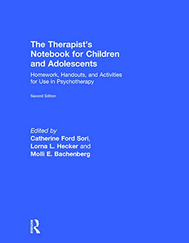 9780415719575: The Therapist's Notebook for Children and Adolescents: Homework, Handouts, and Activities for Use in Psychotherapy