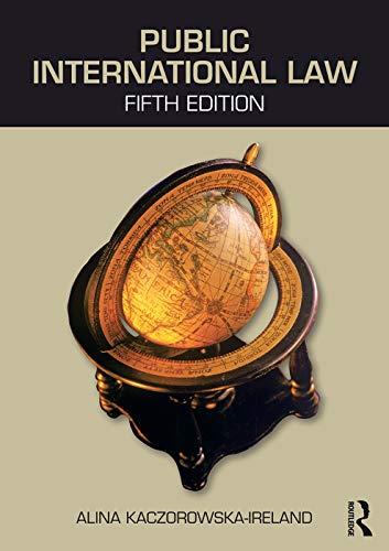 Public International Law: Kaczorowska-Ireland, Alina