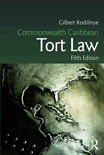 9780415723039: Commonwealth Caribbean Tort Law (Commonwealth Caribbean Law)