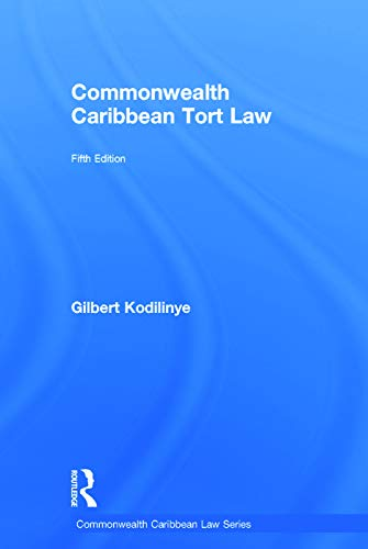 9780415723046: Commonwealth Caribbean Tort Law (Commonwealth Caribbean Law)
