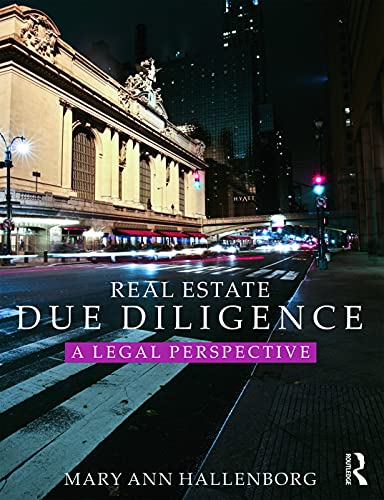 9780415723176: Real Estate Due Diligence: A legal perspective