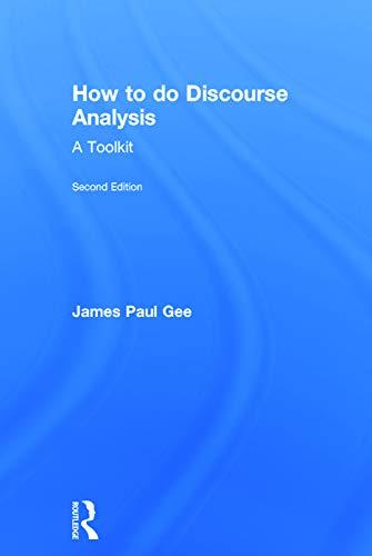9780415725576: How to do Discourse Analysis: A Toolkit