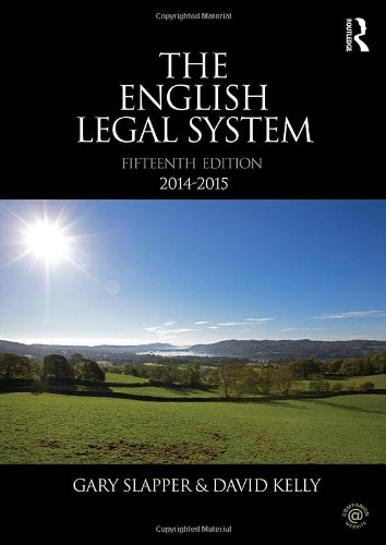 9780415726337: English Legal System Bundle: The English Legal System: 2014-2015