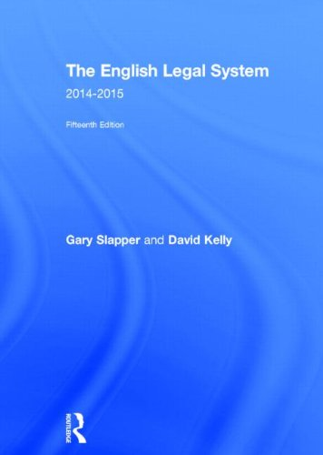 9780415726344: The English Legal System: 2014-2015