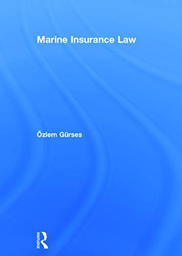 9780415727020: Marine Insurance Law