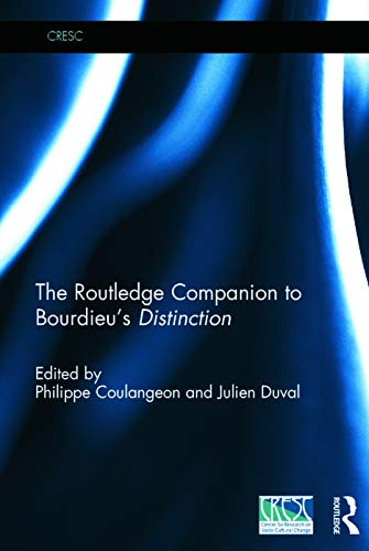 9780415727273: The Routledge Companion to Bourdieu's 'Distinction'