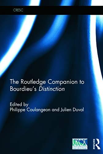 9780415727273: The Routledge Companion to Bourdieu's 'Distinction' (CRESC)