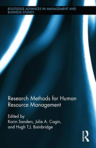 9780415727433: Research Methods for Human Resource Management (Routledge Advances in Management and Business Studies)