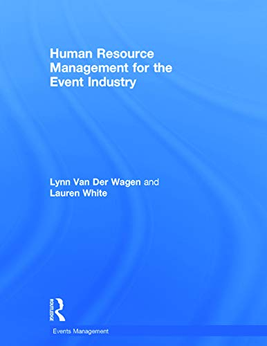 9780415727839: Human Resource Management for the Event Industry (Events Management)