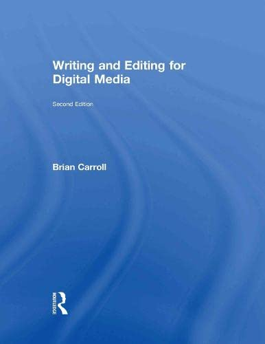 9780415729789: Writing and Editing for Digital Media