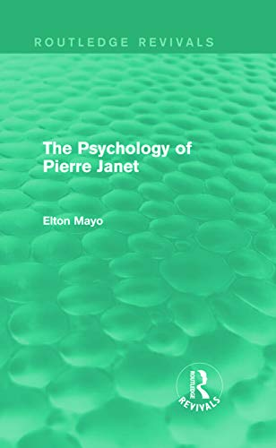 9780415730228: The Psychology of Pierre Janet (Routledge Revivals)