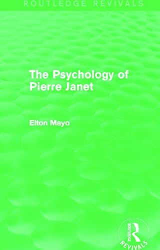 9780415730235: The Psychology of Pierre Janet (Routledge Revivals)