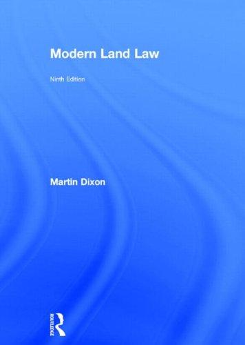 9780415732338: Modern Land Law