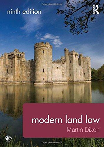 9780415732345: Modern Land Law