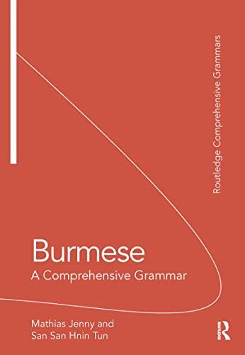 9780415735698: Burmese: A Comprehensive Grammar (Routledge Comprehensive Grammars)