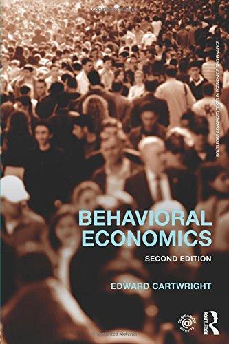 9780415737647: Behavioral Economics (Routledge Advanced Texts in Economics and Finance)