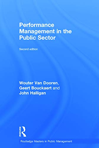9780415738095: Performance Management in the Public Sector (Routledge Masters in Public Management)