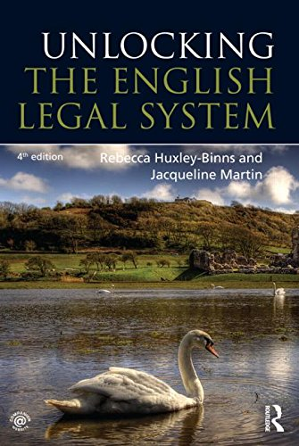 9780415740012: Unlocking the English Legal System (Unlocking the Law)