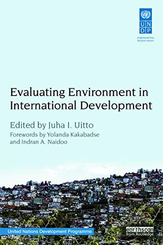 9780415742894: Evaluating Environment in International Development
