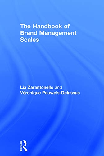 9780415742955: The Handbook of Brand Management Scales