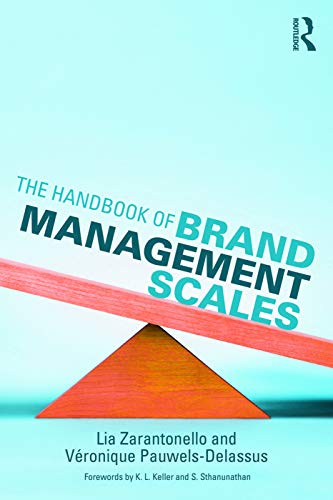 9780415742962: The Handbook of Brand Management Scales