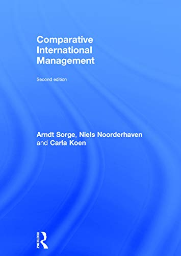 9780415744829: Comparative International Management