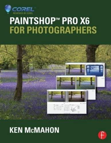 9780415745253: PaintShop Pro X6 for Photographers