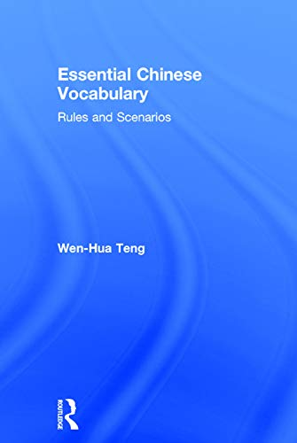 9780415745390: Essential Chinese Vocabulary: Rules and Scenarios