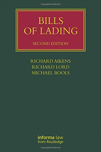 9780415745819: Bills of Lading (Lloyd's Shipping Law Library)