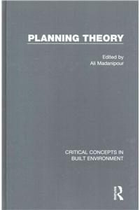 Planning Theory (Hardback)