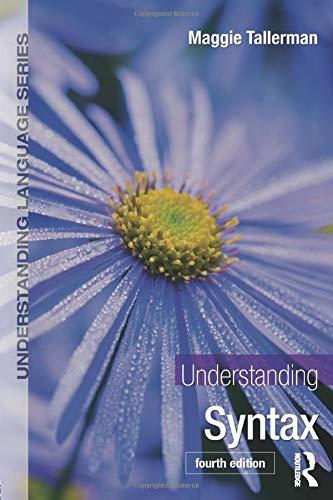 9780415746984: Understanding Syntax (Understanding Language)