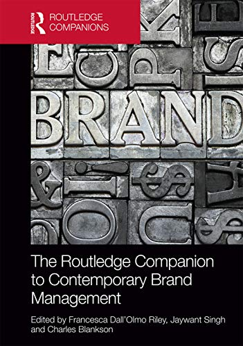 9780415747905: The Routledge Companion to Contemporary Brand Management (Routledge Companions in Business, Management and Accounting)