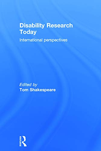 9780415748438: Disability Research Today: International Perspectives
