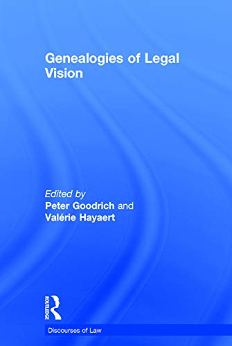 9780415749077: Genealogies of Legal Vision (Discourses of Law)