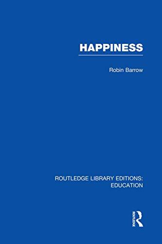 9780415751179: Happiness (RLE Edu K)