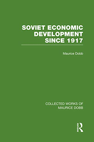 9780415751452: Soviet Economic Development Since 1917