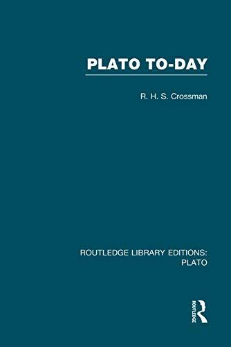 9780415751544: Plato Today (RLE: Plato)