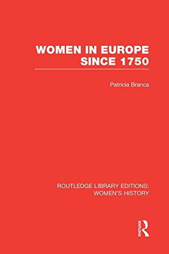 9780415752442: Women in Europe since 1750
