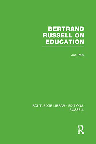 9780415752756: Bertrand Russell On Education