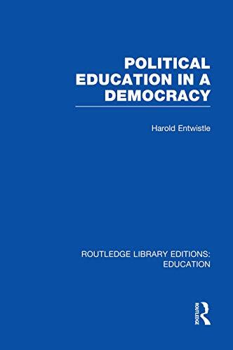 9780415753463: Political Education in a Democracy